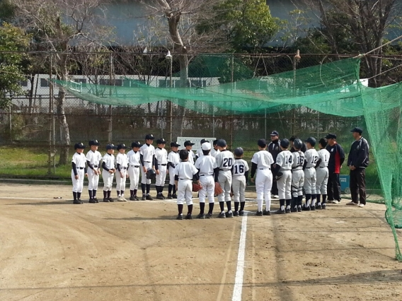 3月22日 此花ボーイズ様との練習試合!